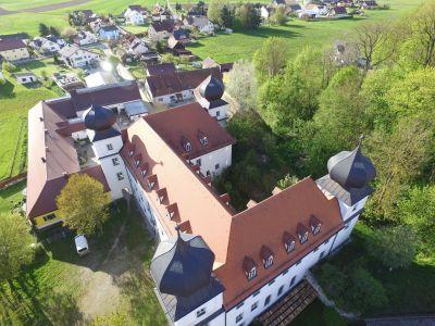 Schloss Pirkensee Von Oben