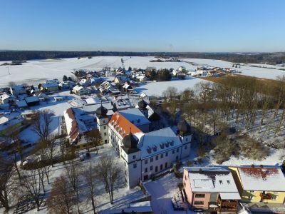 Schloss Pirkensee Im Winter