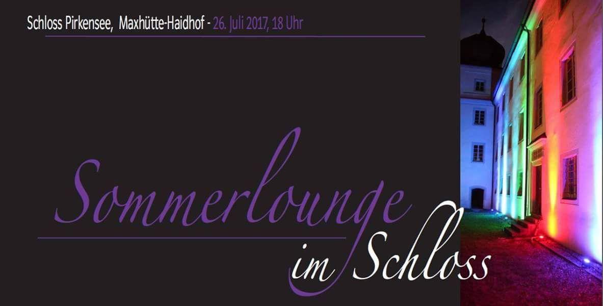 Sommerlounge Im Schloss Pirkensee Am 26. Juli 2017