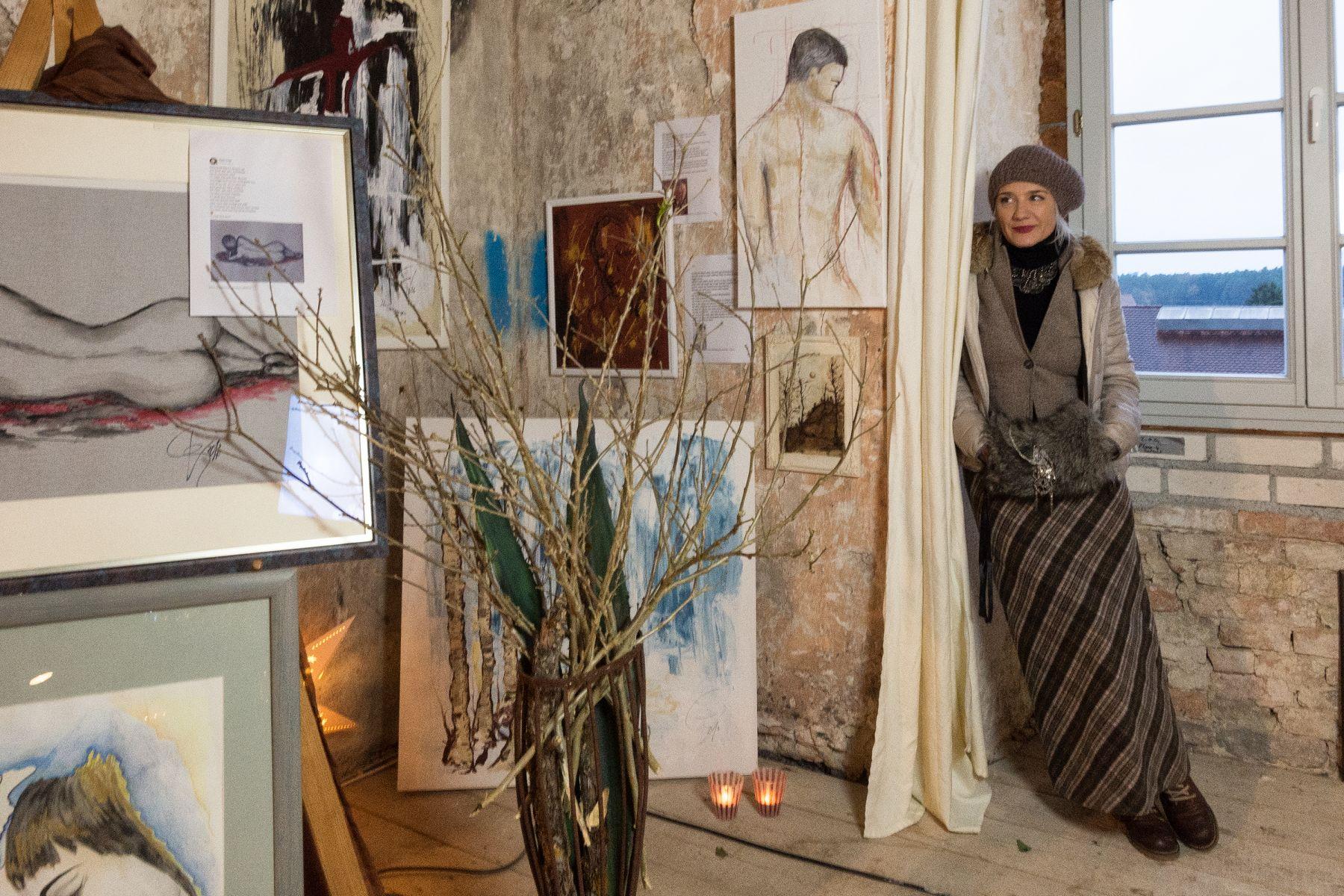 Martini-Ausstellung 2017 im Schloss Pirkensee | Gabi Vogl Telefon: 0151 27603184