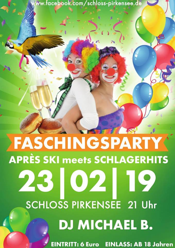 Faschingsparty 2019